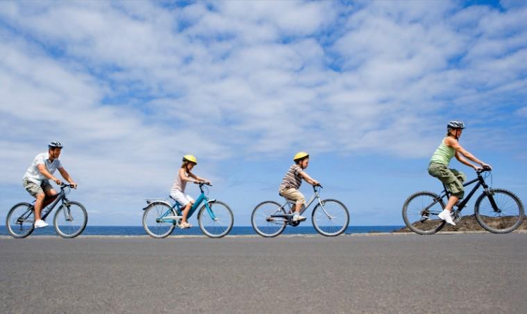 družinske kolesarske poti