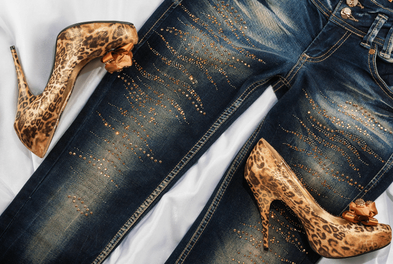 ženske jeans hlače