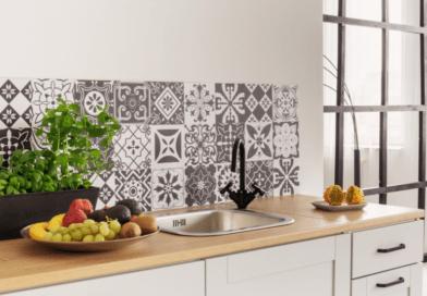 stenske ploščice v kuhinji